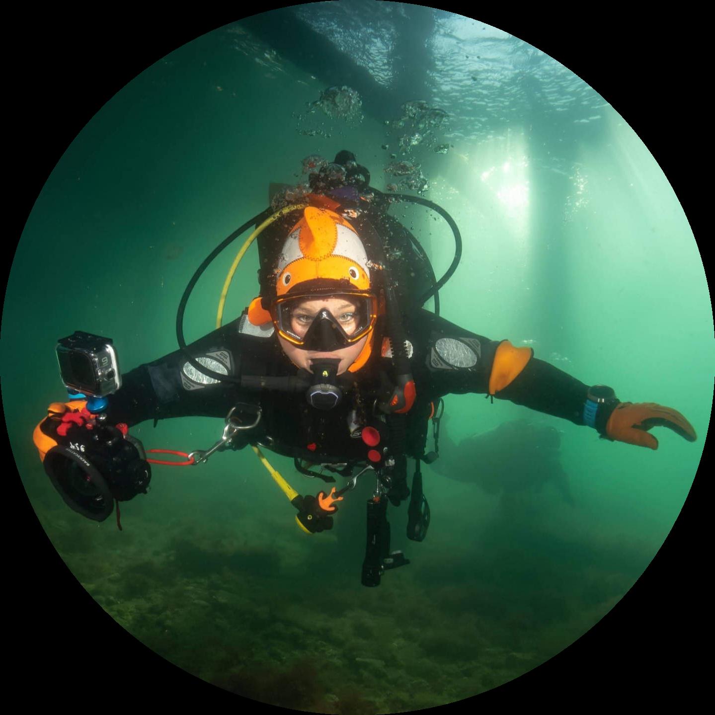 Stephanie Pettitt Underwater Photographer